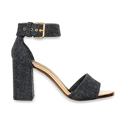 Grey felt sandals By Marni