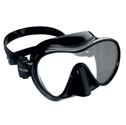 F1 frameless mask by Cressi