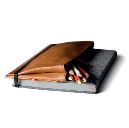 LEATHER CASE & NOTEBOOK By HARD GRAFT