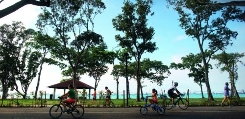 The best cycle path in Singapore