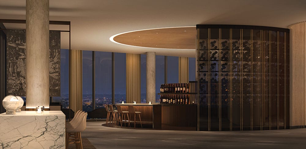 Unobstructed views of the District's most famous monuments from the hotel's rooftop bar