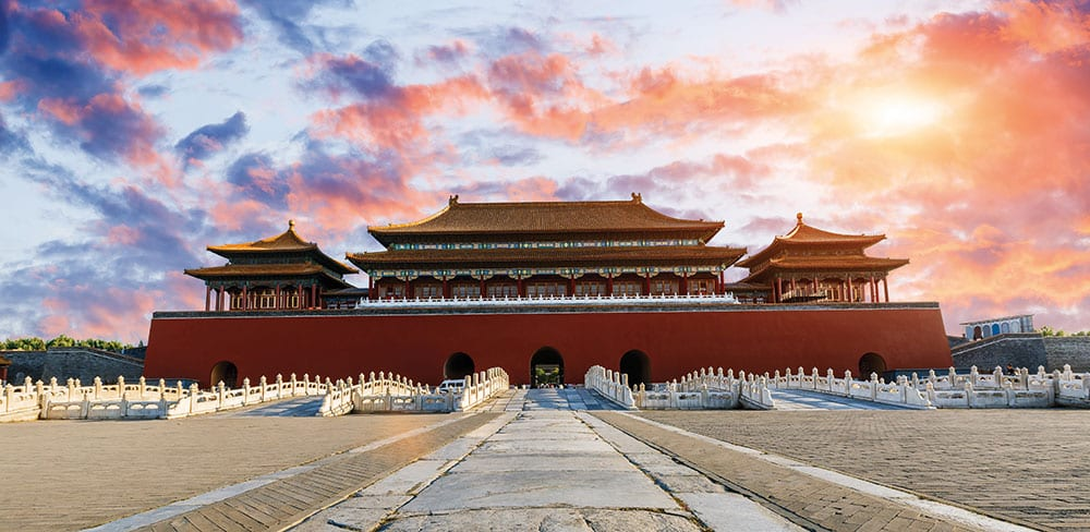Ancient royal palaces in the Forbidden City