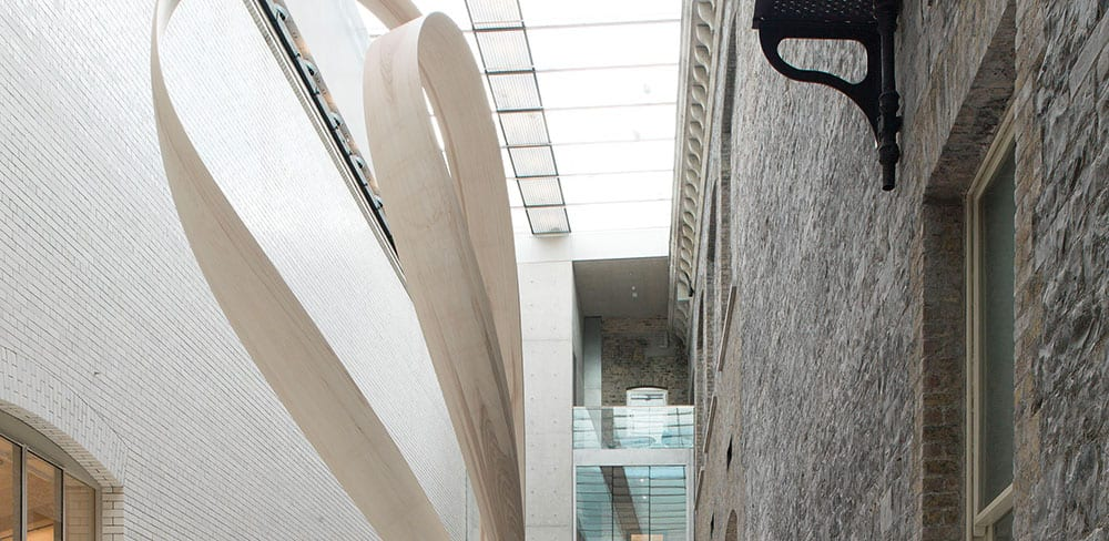 Courtyard at National Gallery of Ireland, Dublin